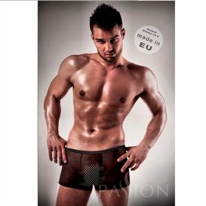 Boxer Negro 025 Transparente By Passion Men S/M