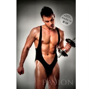 Passion Men Body 011 Jockstrap Black Men Lingerie By Passion S/M