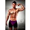 Passion Men Boxer 009 Lila/ Negro Erotic Passion Lingerie S/M