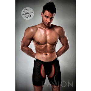Passion Men Boxer / Tanga  012 Erotic Negro En Red By Passion S/M