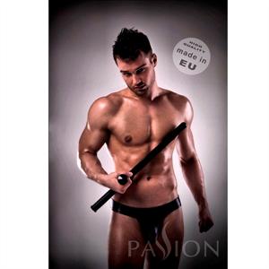 Passion Men Jockstrap 008 Black Leather Passsion Men Lingerie S/M