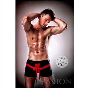 Passion Men Passion 001 Komplet Leather Rojo/Negro Xxl /Xxxl