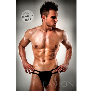 Passion Men Tanga Negro 014 Liso Sex By Passion Xxl /Xxxl