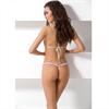 Passion Woman - Passion Woman Giana Bikini Set 2 Piezas Blanco Talla Xl/Xxl