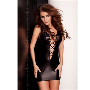 Passion Woman Lyzzy Vestido Negro By Passion  S/M