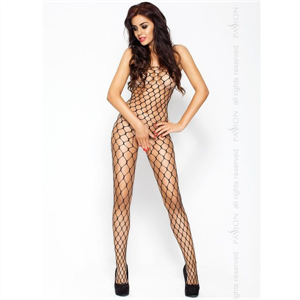 Passion Woman Passion Erotic Line Catsuit Negro Bs001
