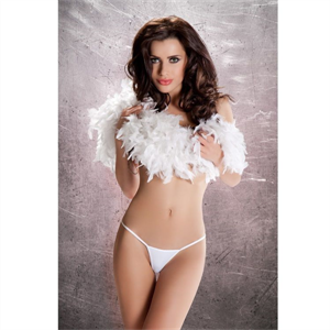 Passion Woman Passion Erotic Line Tanga Blanco Mt012