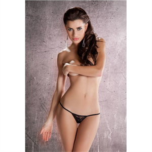 Passion Woman Passion Erotic Line Tanga Negro Mt018