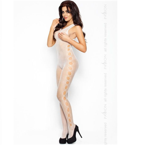 Passion Woman Passion Eroticline Catsuit Blanco Bs003