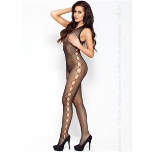Passion Woman Passion Eroticline Catsuit Negro Bs003