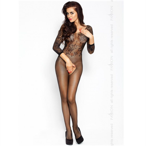 Passion Woman Passion Eroticline Catsuit Negro Bs007