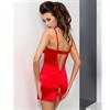 Passion Woman - Passion Loraine Chemise & Tanga Rojo Xxl/Xxxl
