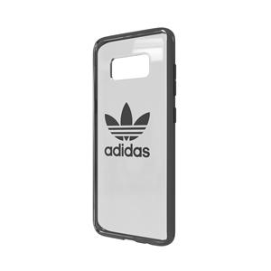 Adidas - Carcasa Clear Case Gris Acero para Samsung Galaxy S8 Adidas
