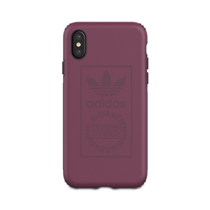 Adidas - Carcasa Shockproof Techink granate para Apple iPhone 8 Adidas