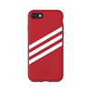 Carcasa Moulded rojo real y blanco para Apple iPhone 7S 7 6S 6 Adidas