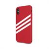 Adidas - Carcasa Moulded Rojo Real y Blanco para Apple iPhone 8 Adidas