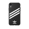 Adidas carcasa Apple iPhone 9 Moulded rayas negro/blanco