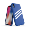 Adidas carcasa Apple iPhone 9 Moulded Suede azul/blanco