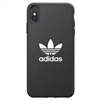 Adidas carcasa Apple iPhone X Plus Moulded logo negro/blanco
