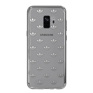 Adidas - Carcasa Clear Snap Plata Samsung Galaxy S9 adidas