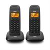Aeg Teléfono Inalámbrico Voxtel D85 Twin Negro AEG