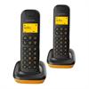 Alcatel teléfono DECT D135 dúo negro/naranja