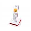 Alcatel teléfono S250 rojo/blanco
