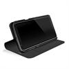 Black Rock - Funda Booklet Mateial Pure Negra para Samsung Galaxy S8 Plus Black Rock