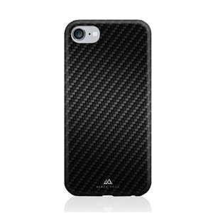 Black Rock - Carcasa Flex Carbon Negra para Apple iPhone 7/6S/6 Black Rock