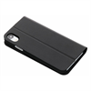 Black Rock - Black Rock funda Apple iPhone XS/X Booklet Pure negra