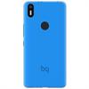 Bq Funda Gummy Azul Aquaris X5 Plus bq