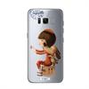 Funda TPU Transparente Selfie Samsung Galaxy S8 Coquette