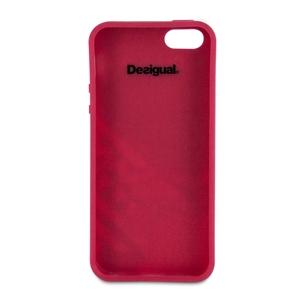 4b5acf80045 Funda Silicona Romantica Jacky Apple iPhone 5 Desigual - Fundas.es