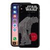 Disney Funda TPU Transparente AT-AT para Apple iPhone X Star Wars - The Last Jedi