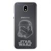 Disney Funda TPU Transparente Storm Trooper para Samsung Galaxy J7 2017 Star Wars