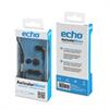 Echo - Auriculares Mono negro 3,5MM universal (con micrófono y ADAPT.3,5MM) Echo
