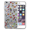 Funda TPU Transparente Collage para Apple iPhone 7 Emoji
