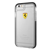 Ferrari Funda TPU Shockproof Transparente Negra Apple iPhone 6/6S F errari