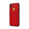 Carcasa Fibra Carbono Roja Apple iPhone 8 Ferrari
