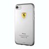 Funda TPU Transparente Racing Apple iPhone 7 Ferrari