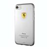Funda TPU Transparente Racing Apple iPhone 7 Ferrari