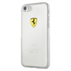 Funda TPU Transparente Racing Apple iPhone 7 Plus Ferrari