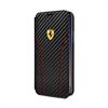 Funda Folio Fibra Carbono Negra Apple iPhone 8 Ferrari