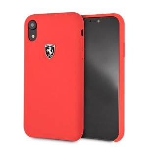 Ferrari - Ferrari funda Apple iPhone XR silicona roja
