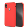 Ferrari funda Apple iPhone XR silicona roja