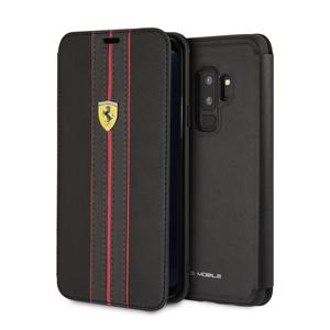 Ferrari - Funda Folio Urban Negra Samsung Galaxy S9 Plus Ferrari