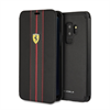Funda Folio Urban Negra Samsung Galaxy S9 Plus Ferrari