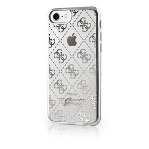 7e64869f6b7 Funda TPU Transparente 4G Plata Apple iPhone 7 Guess - Fundas.es
