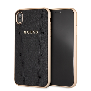 Guess - Guess carcasa Kaia Apple iPhone XR negra