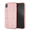Guess carcasa Kaia Apple iPhone XR oro rosa